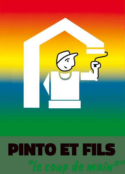 Logo de l'entreprise représentant un peintre qui peint une maison